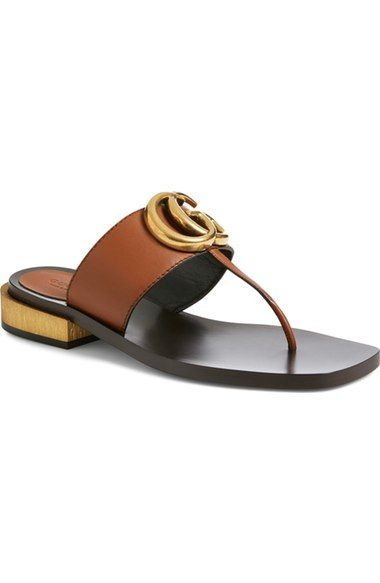 27fbb8bd2e53 Gucci  Marmont  Sandal (Women) available at  Nordstrom