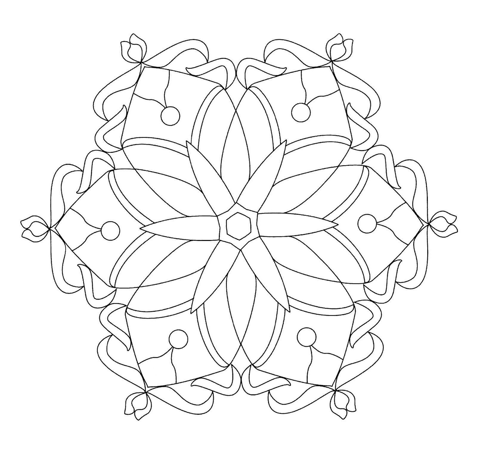 Mándalas para Colorear de Flores de Loto (14) | Mandalas | Pinterest ...