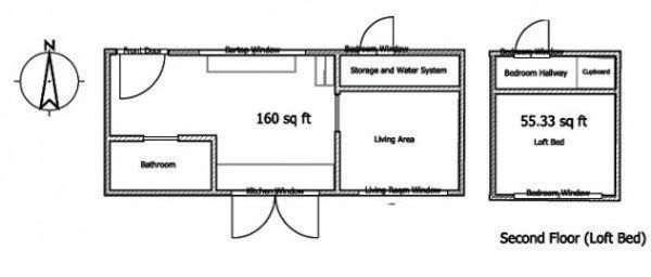 Astonishing 1000 Images About Tiny House Floor Plans On Pinterest Tiny Largest Home Design Picture Inspirations Pitcheantrous