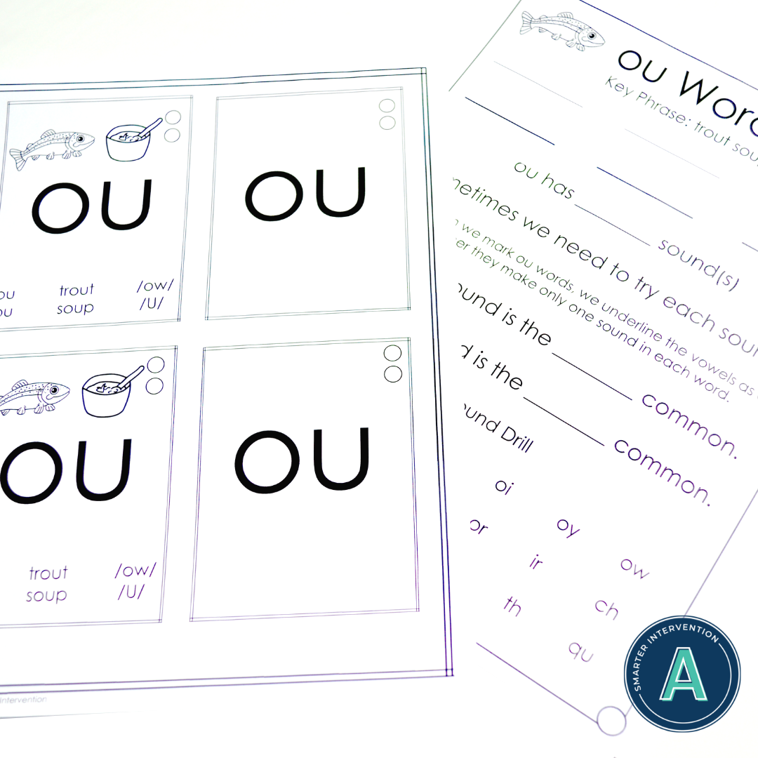 Vowel Diphthong Ou Orton Gillingham Activities