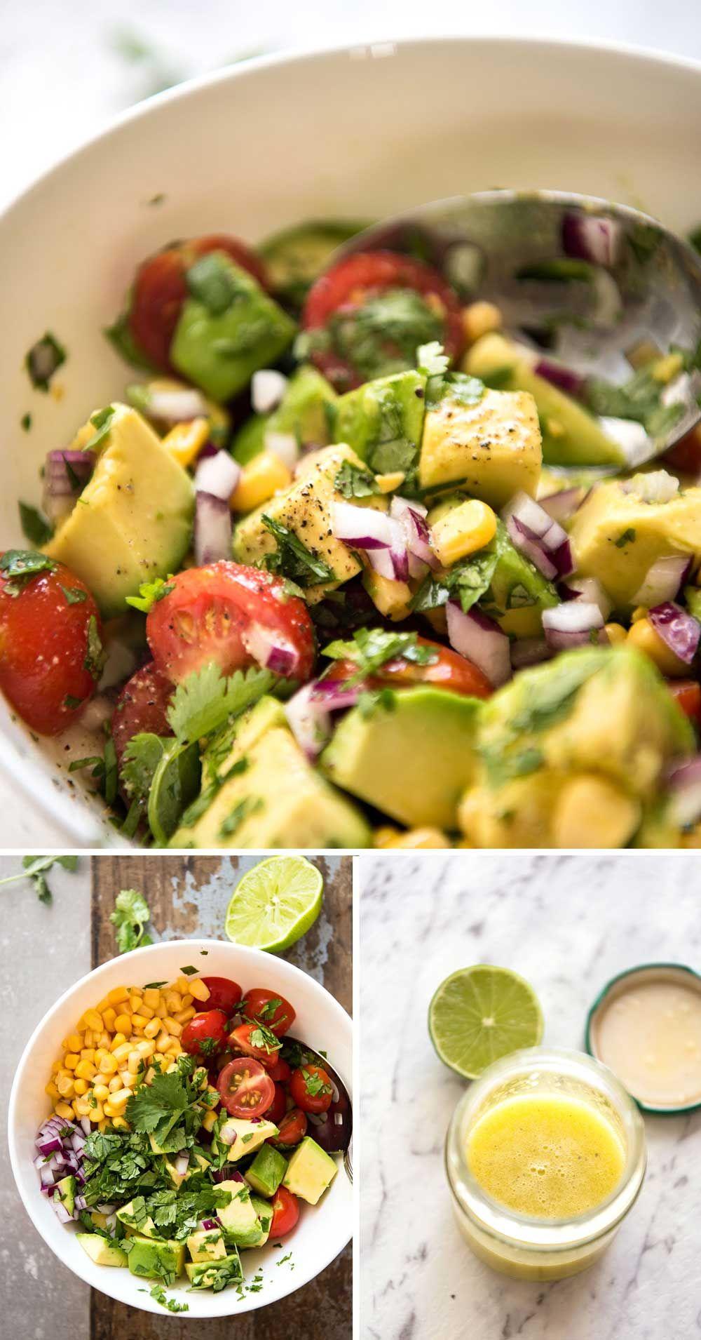 Mexican Avocado Chicken Salad