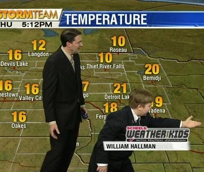 UPDATE: Scheels Weather Kid Steals the Show - Valley News Live - KVLY/KXJB - Fargo/Grand Forks