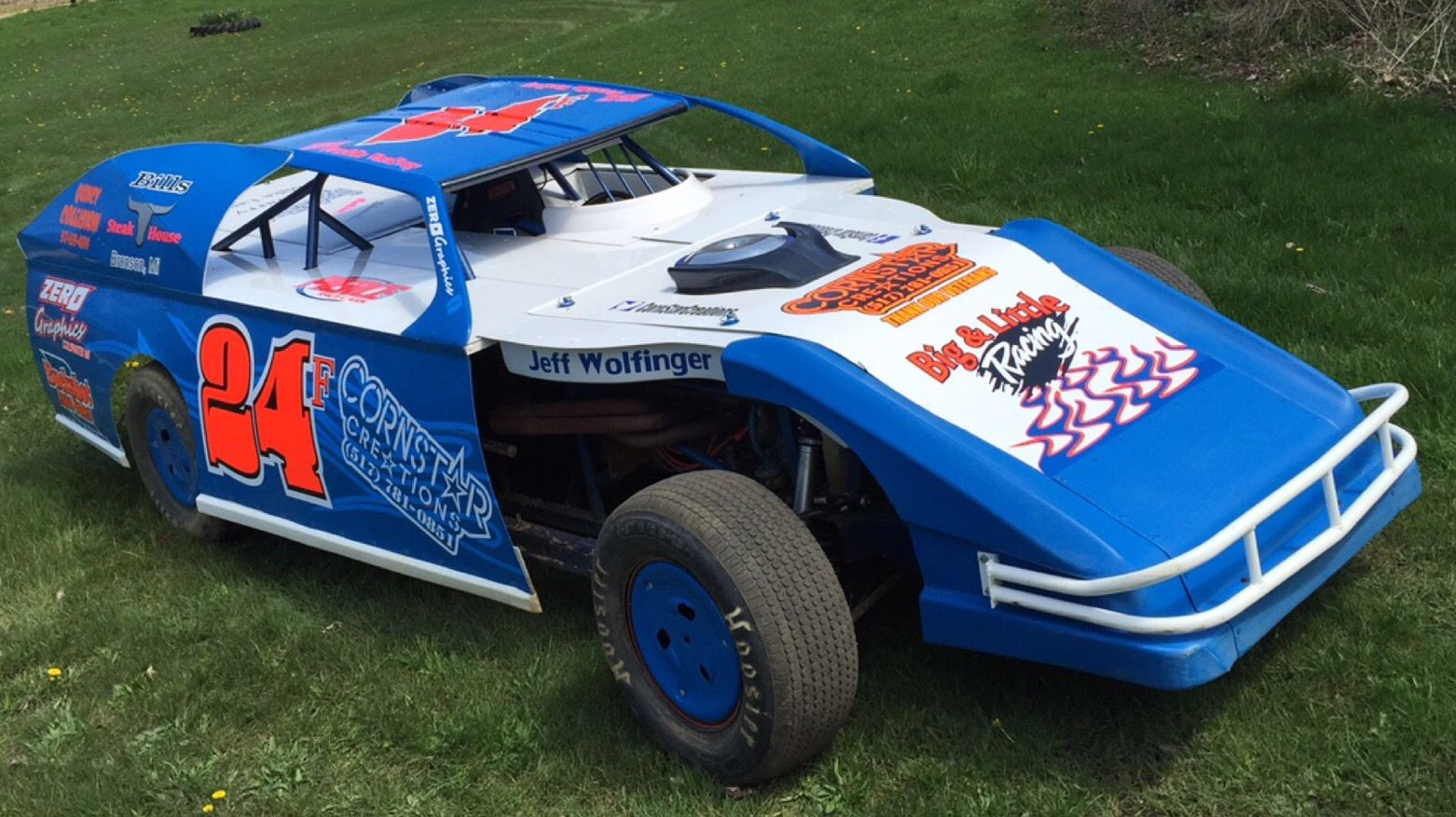 CornStar creations modified race car out of Coldwater