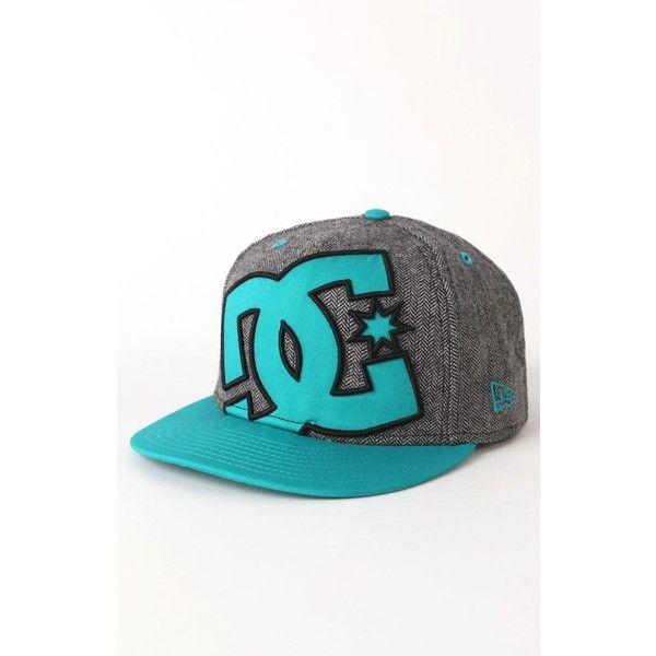 DC Shoes Ya Heard 950 Snapback Hat (37 CAD) ❤ liked on Polyvore featuring e2e00af813e0