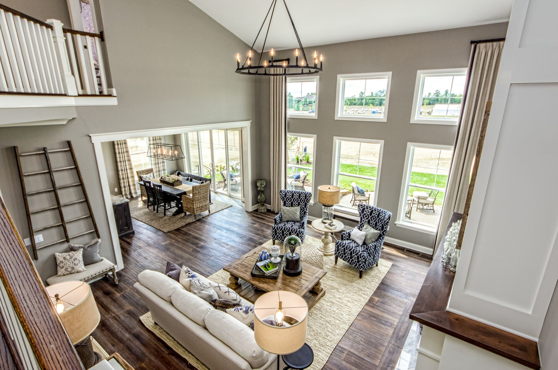 Parade of Homes - Trinity Homes - Soaring Two-Story Great Room