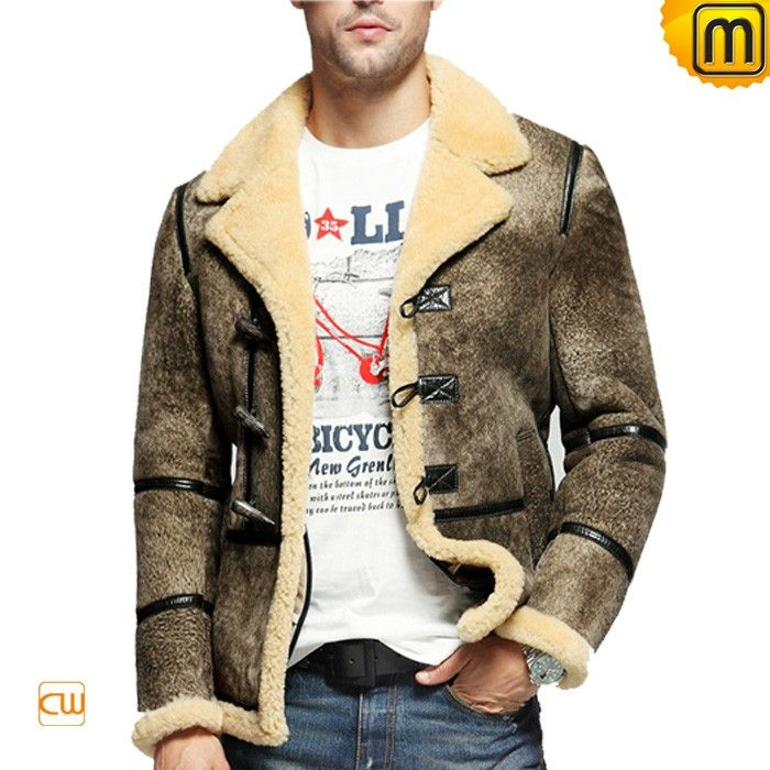 Vintage Mens Sheepskin Jacket CW878123 | Надо купить | Pinterest ...