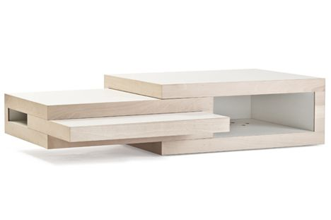 Dutch Designer Reinier De Jong Has Just Launched This New Extendable Coffee  Table.very Practical!