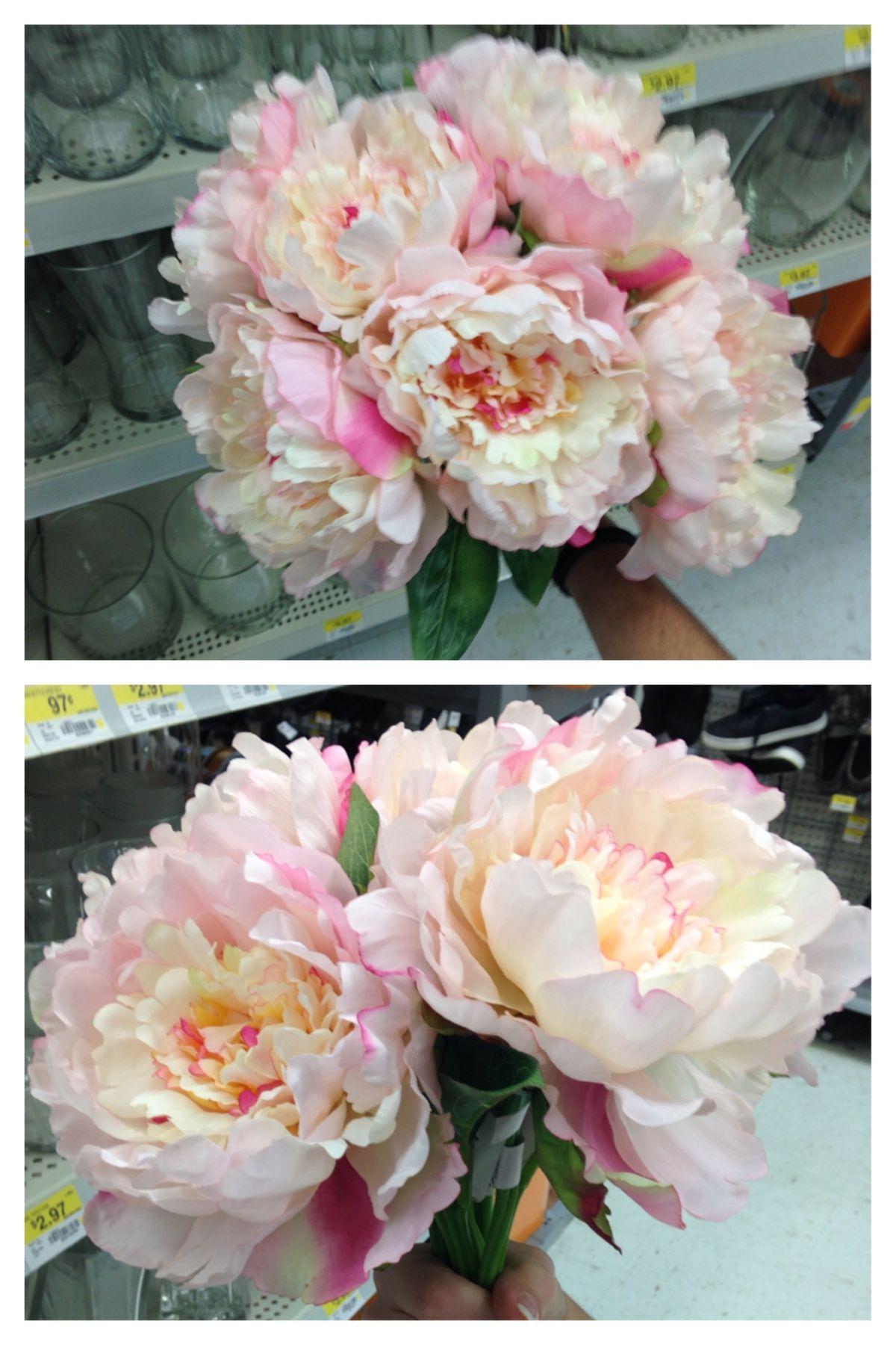 Fake peonies 2$/stem @ Walmart bouquet 14$ | Party Ideas | Pinterest ...