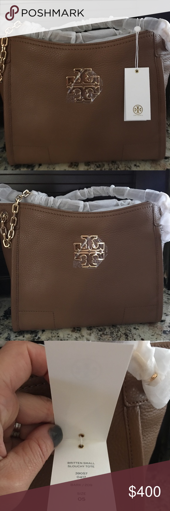 873ed10ee7ca NEW Tory Burch Britten Tote! 100% Authentic Brand new with tags Tory Burch  leather