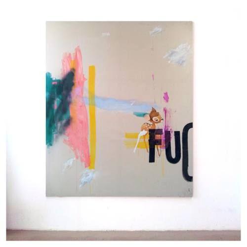 "buschrisvig: "" Jenny Brosinski #newwork #painting #jennybrosinski #contemporaryart #art #kunst #berlin #germany @jenny_greentop_brosinski "" Jenny Brosinski"