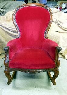 Fantastic Queen Anne Rocking Chair Extremely Rare Rocking Chair Gamerscity Chair Design For Home Gamerscityorg