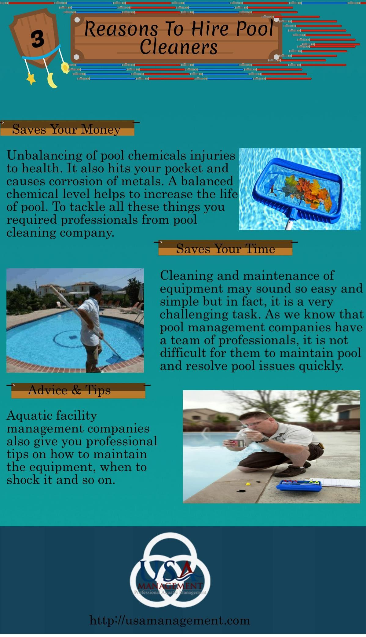 Pool cleaning professionals are those people who know all the ...