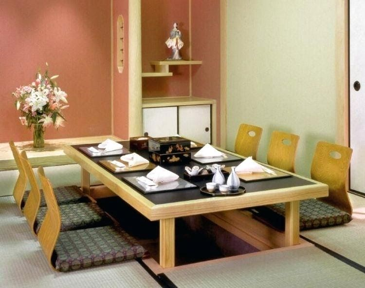 Japanese Floor Seating Thereismore Me Japanese Dining Table Wondrous Japan Style Dining Tab In 2020 Furniture Sets Design Japanese Dining Table Japanese Living Rooms