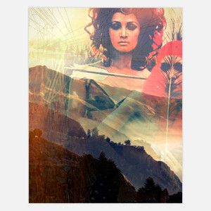 Mountain Girls Print 11x14 now featured on Fab.