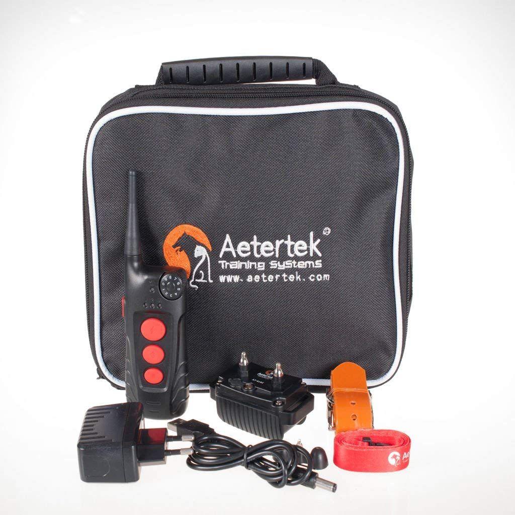 Aetertek dog training collar rechargeable and waterproof