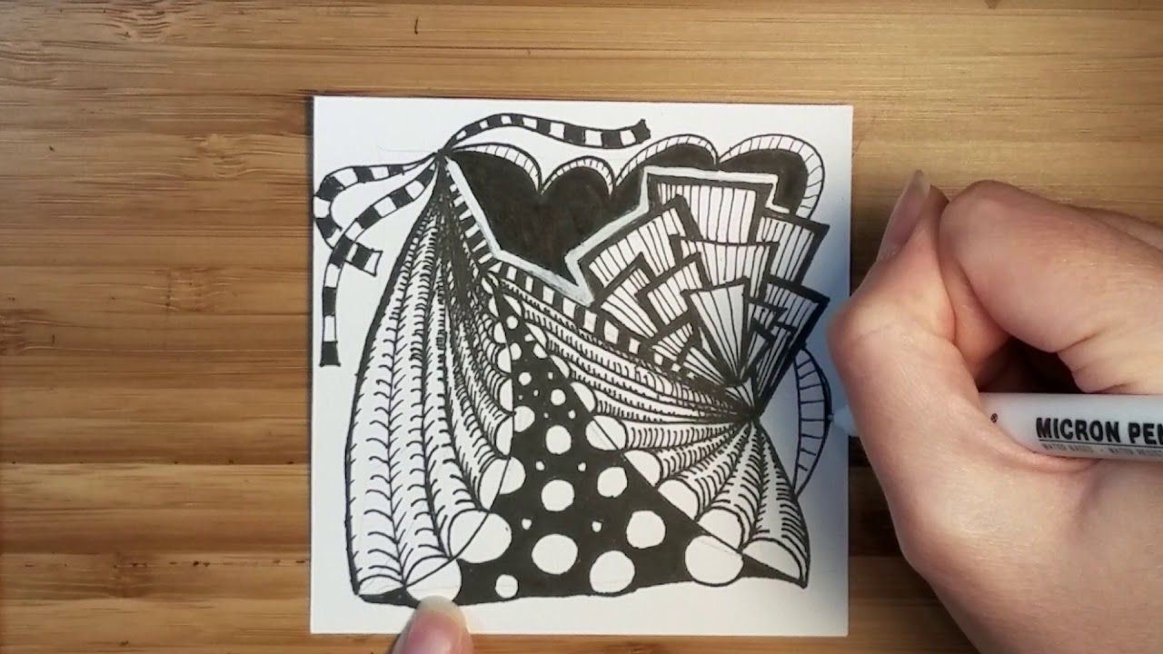 Burst Of City Zentangle Time Lapse Doodle With Images