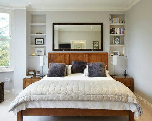 Bedroom layout chimney breast | Home ideas in 2019 | Bedroom alcove ...