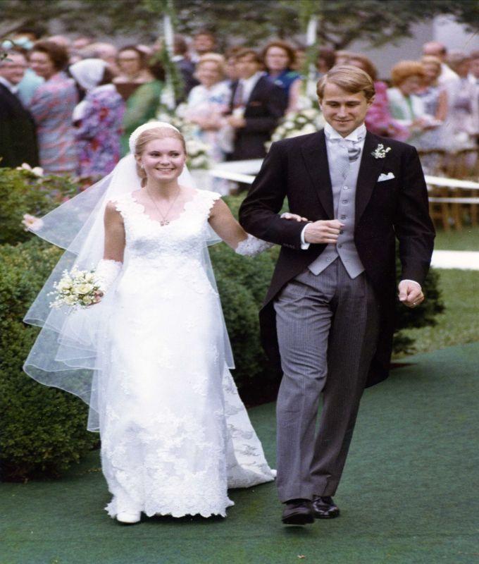 Vintage Wedding Dresses Boston: Tricia Nixon Cox Wedding Dress