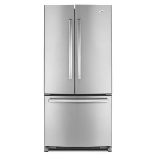 Whirlpool Gold 21 7 Cu Ft At Lowes 1529 10 Height 70 125 Width 32 625 Dept French Door Refrigerator French Door Refrigerators Stainless Steel Refrigerator