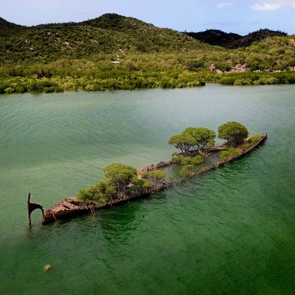 Abandoned 100-Year-Old Shipwreck In Australia Is Reclaimed