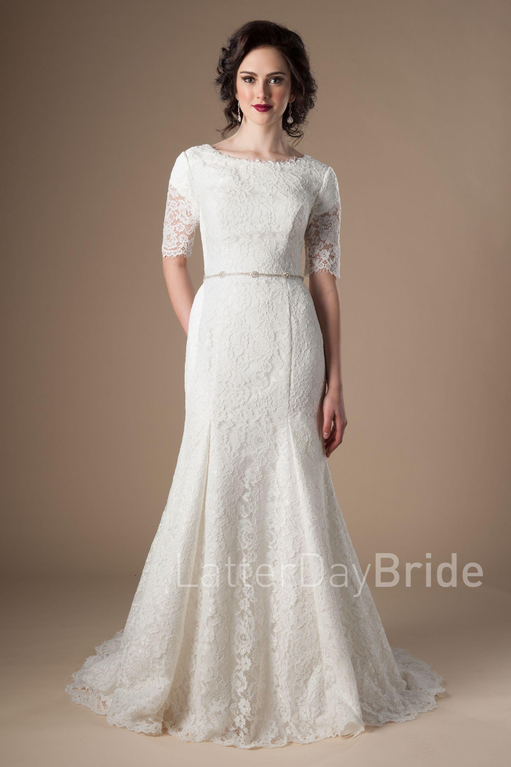 Modest wedding dresses, Modest wedding gowns