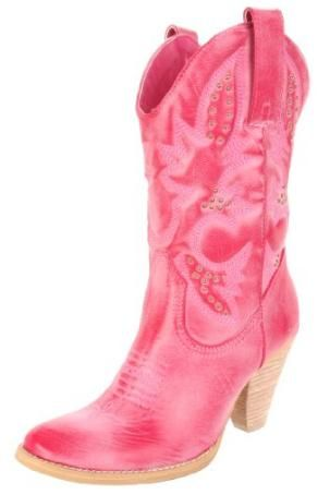 Image detail for -Pink Cowgirl Boots - Western, Justin, Gypsy, Lucchese | Ladies Cowgirl ...