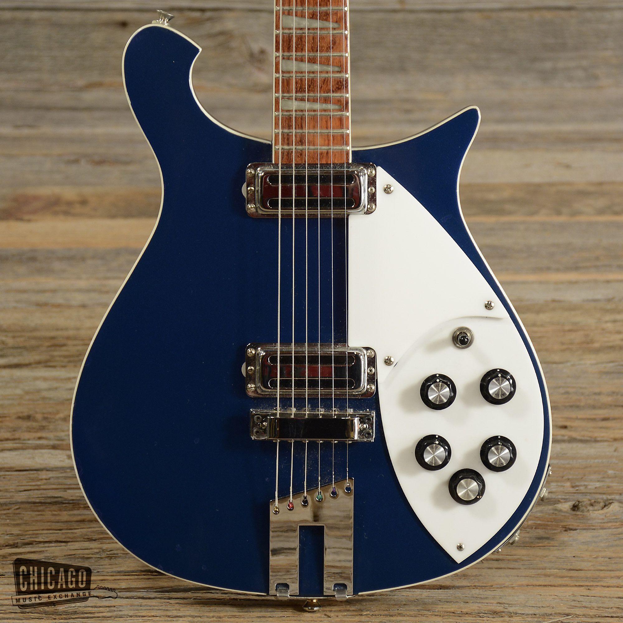 Rickenbacker 620 Midnight Blue 1980s Midnight Blue Chicago Shopping Guitar