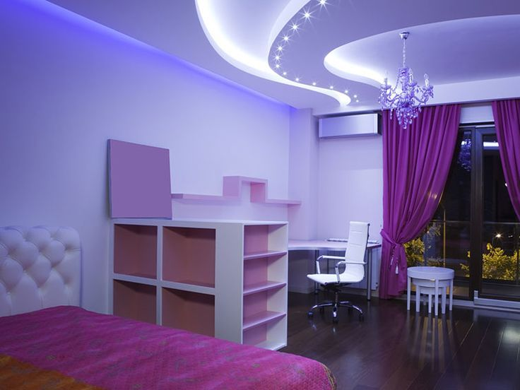 20 Beautiful Purple Bedroom Ideas | Purple bedroom design, Purple ...