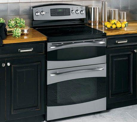 Vintage electric range double ovens estufas el ctricas y for Cocinas mixtas a gas y electricas