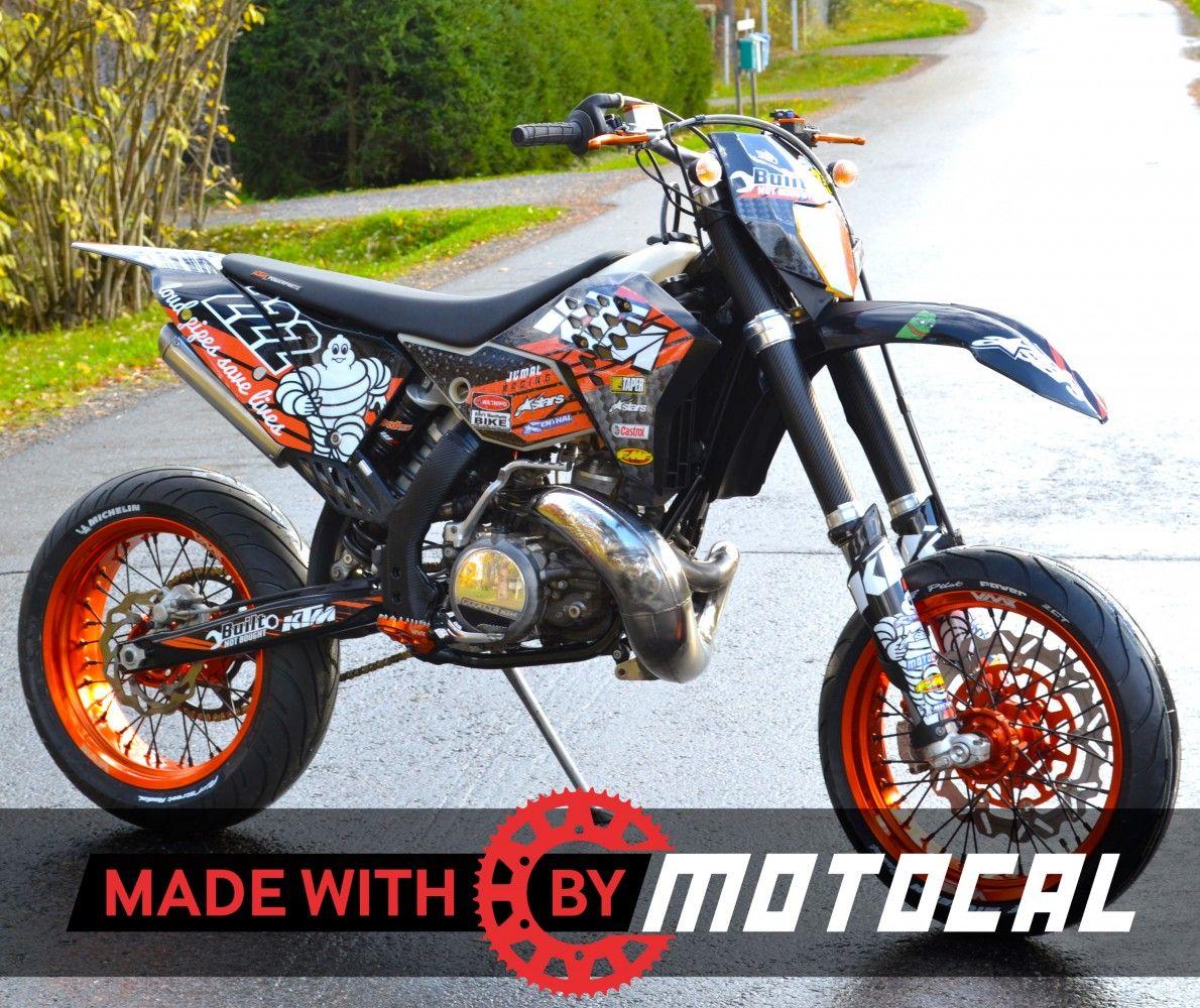Custom ktm decal design motocal motor racing decals