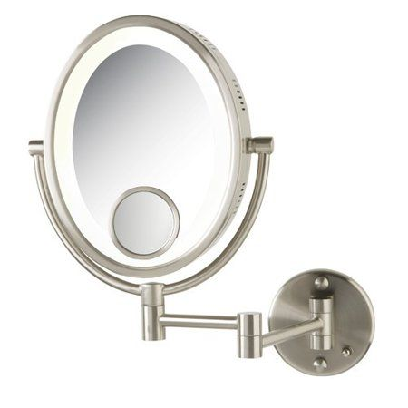 Beauty Lighted Magnifying Makeup Mirror Wall Mounted Mirror Mirror With Lights