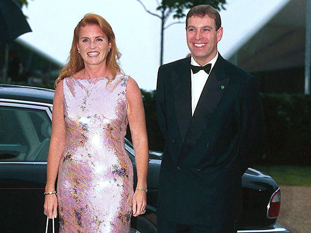 prince andrew and sarah royal wedding Sarah Ferguson et