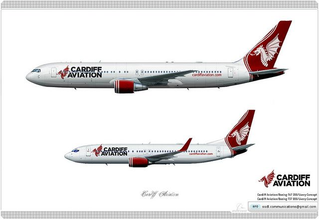 Cardiff Aviation / Livery concept | Livery concept | Aircraft