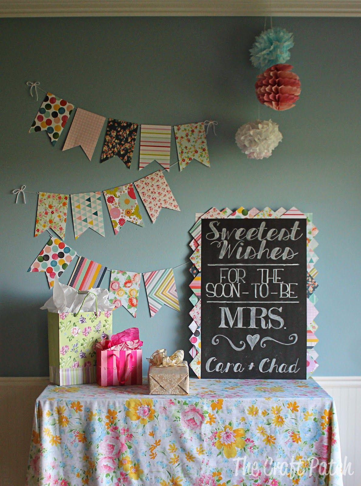 "The Craft Patch: ""Love is Sweet"" Bridal Shower"