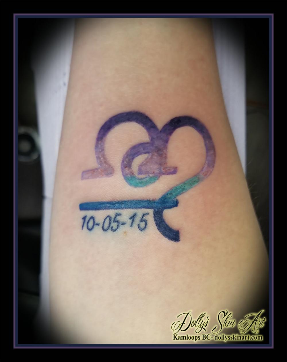 Leo Libra Tattoo : libra, tattoo, Gradationed, Libra, Symbols, Amanda, Symbol,, Wisdom, Tattoo