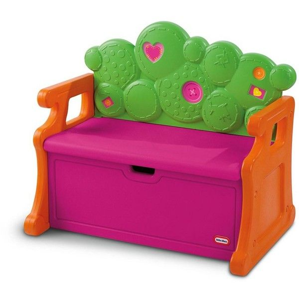 Carnival Toy Box Pink: Lalaloopsy Toy Box Bench By Little Tikes, Pink ($114