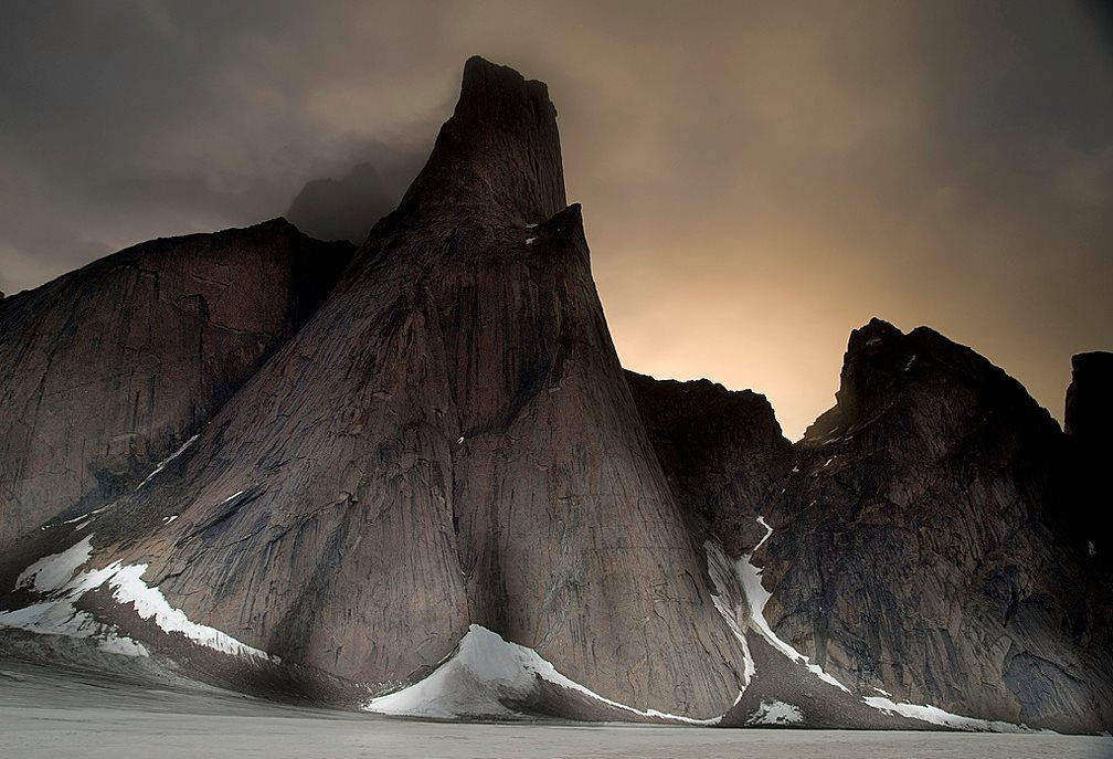 Mt. Asgard on Baffin Island (known as Qikiqtaaluk to the local Inuit), Nunavut.  Photo: (C) Matt Hyde