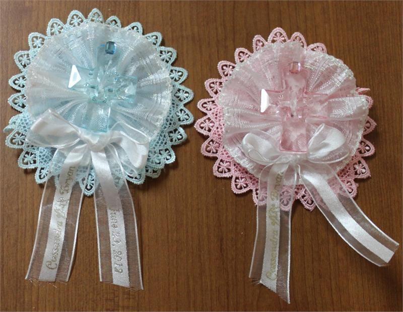 wedding guest lapel ribbons baptism communion corsage capias wfancy ribbons baptism favorsbaby shower