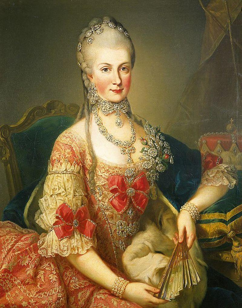 Maria Christina(1742-1798) Duchess of Teschen