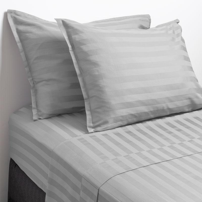 Nell 100 Cotton Sateen Sheet Set Light Grey Twin Sateen Sheets Sheet Sets Natural Sheets