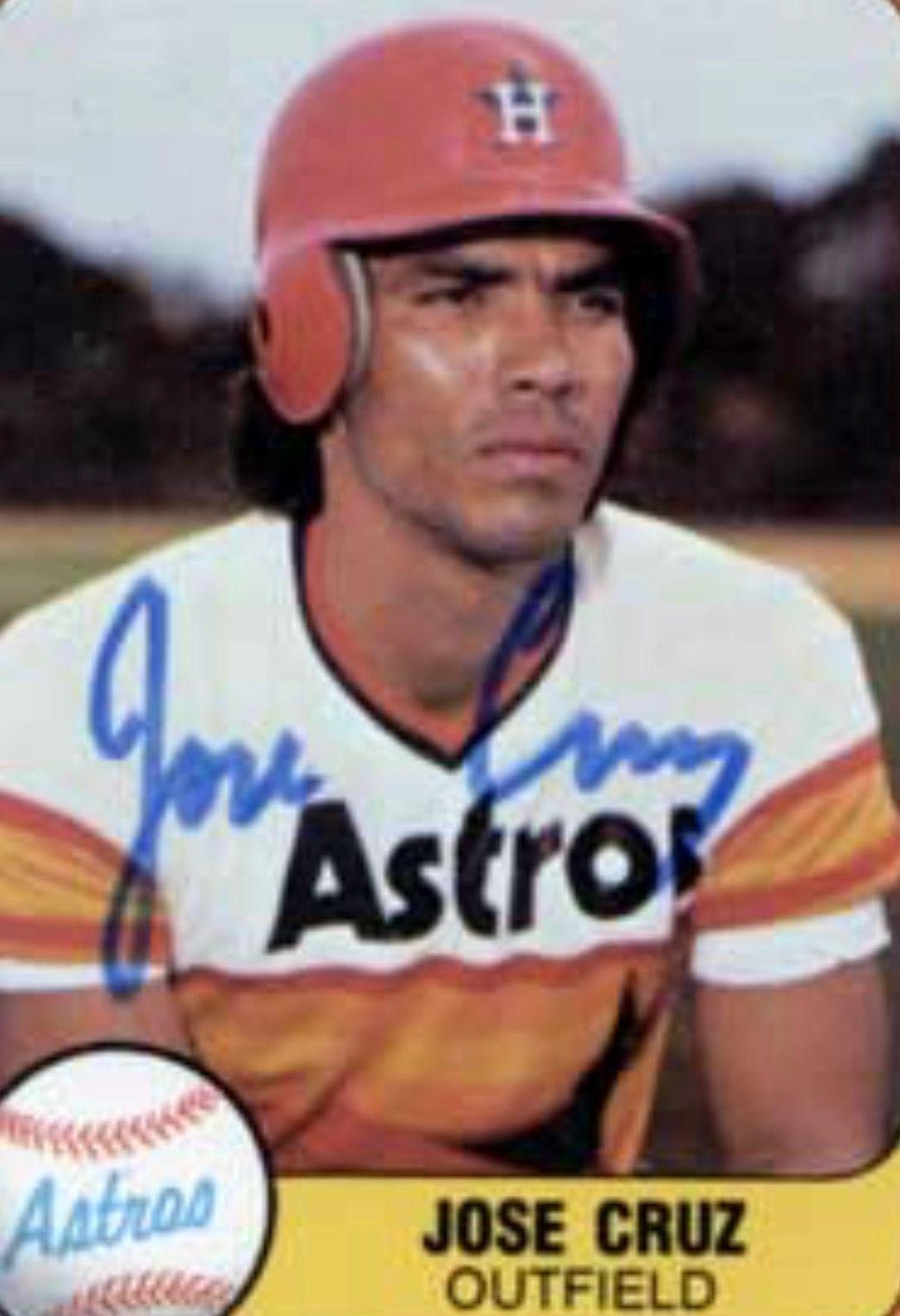 Houston Astros Outfielder Jose Cruuuuuz Houston Texas In
