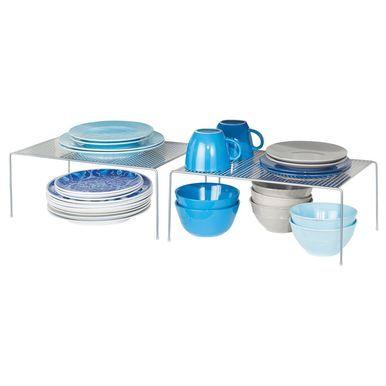 Slim Metal Kitchen Cabinet, Pantry Storage Shelf, Pack of 2 #kitchenpantrystorage