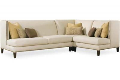 Lee Industries High Back Sectional Sofa For Tight Clean Sofas And Modern  Interiors 4800 Series