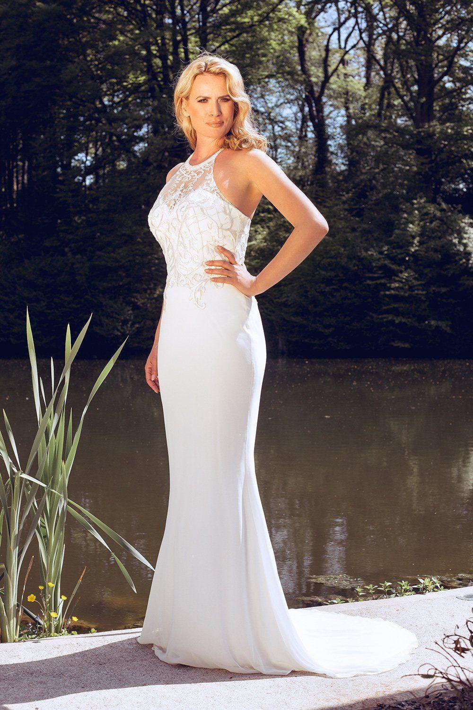 Dynasty Delsin 1033204 Halter style dress, Dresses