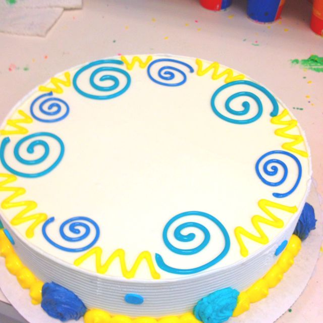A birthday bash cake idea Here is an interesting birthday cake