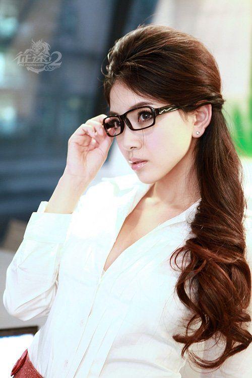Long Ponytail Hairstyle Korean Hairstyles Blog Ponytails