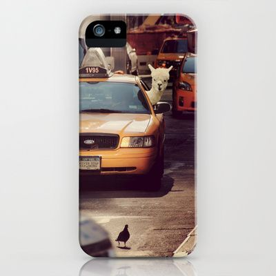 A LAMA IN NEW YORK ***  NEVER STOP EXPLORING VIII  iPhone & iPod Case