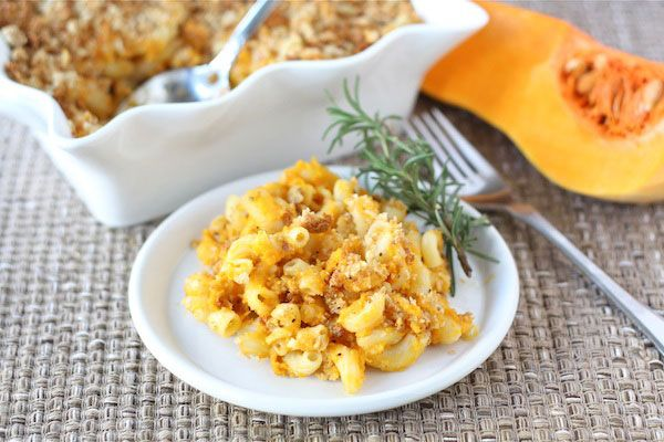 Butternut squash mac and cheese- 10 Healthy Thanksgiving Side Dishes - ParentMap