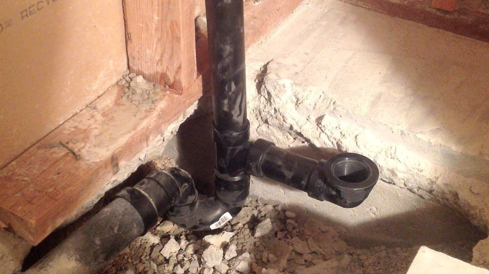 Learn how to do the plumbing for a new bathtub installation. In this ...