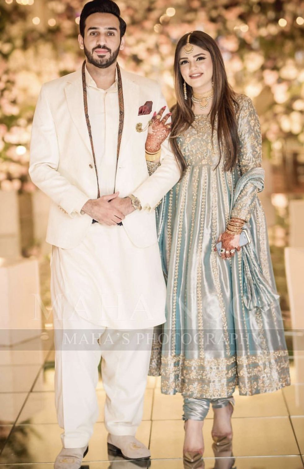 Brides sister and brother in law pakistani bridal